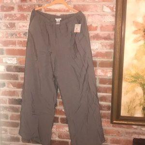 Pants - Wide leg pants.